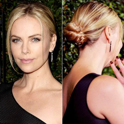 Цхарлие Theron - wedding hairstyle ideas