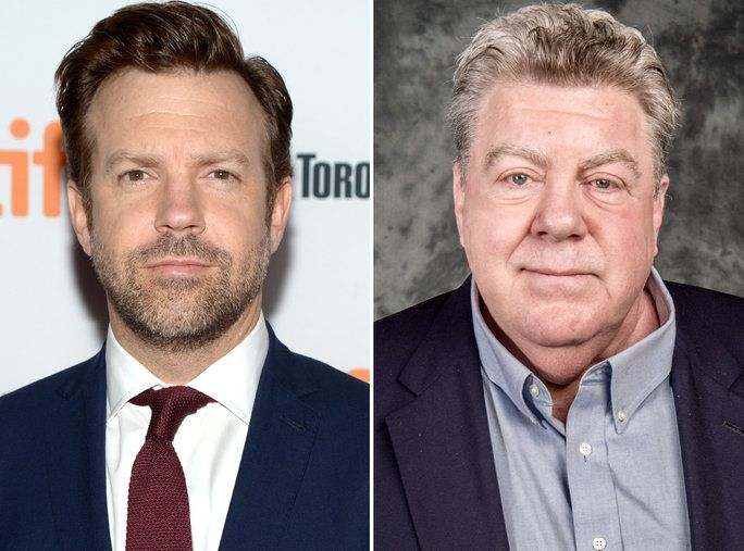 Јасон Sudeikis and George Wendt