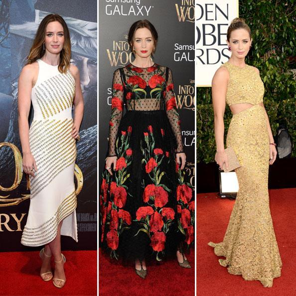 Емили Blunt's Best Red Carpet Looks