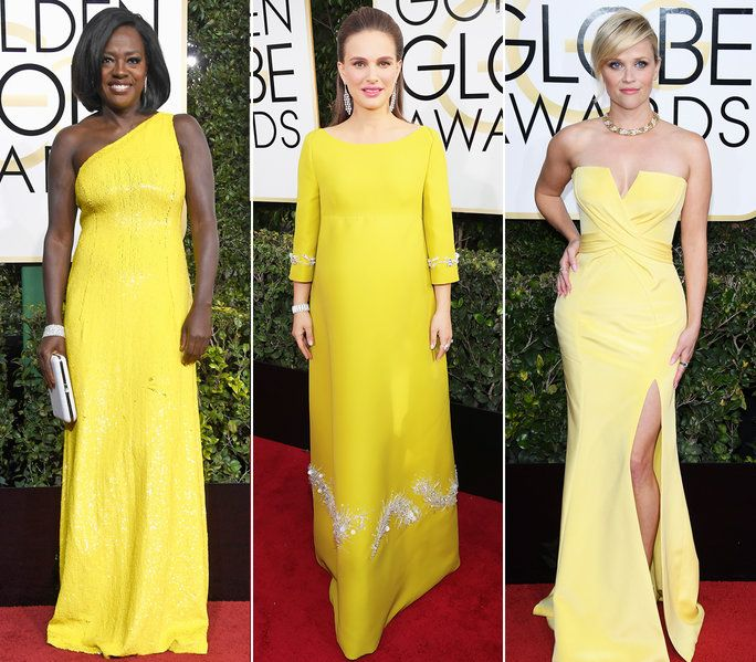 ذهبي Globes - Yellow Fashion - LEAD