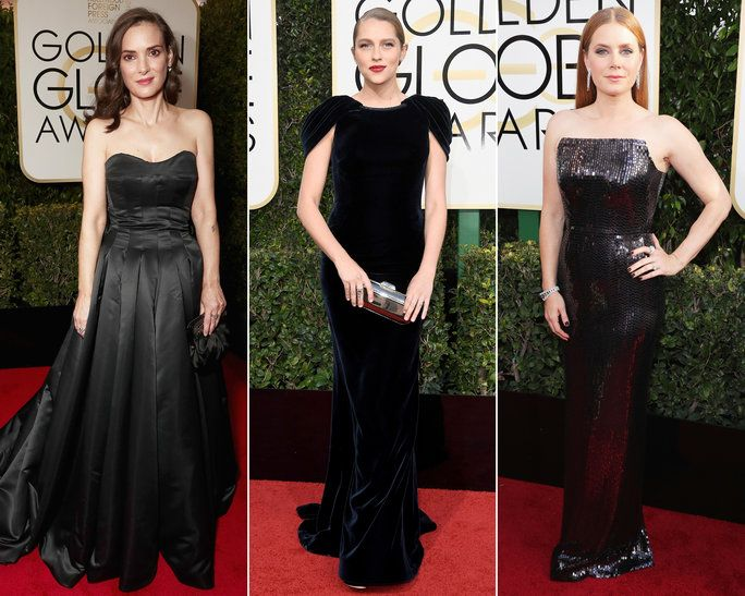 Мода Not Your Average Dress 2017 Golden Globes - LEAD