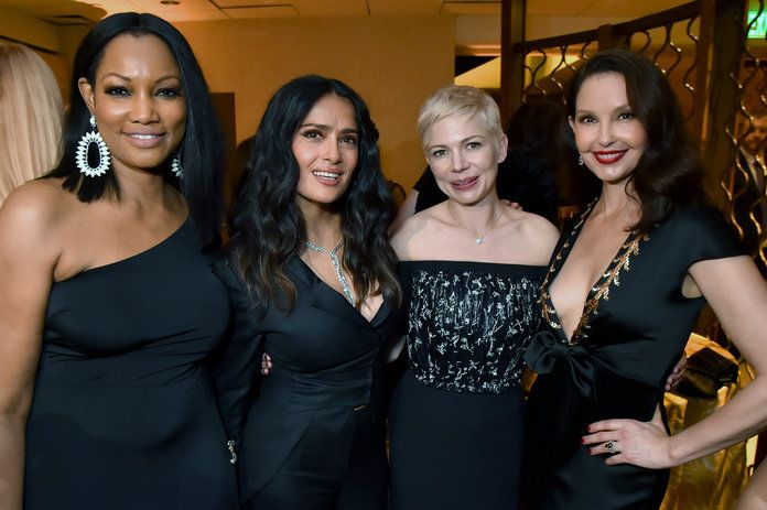 Garcelle Beauvais, Salma Hayek, Michelle Williams, and Ashley Judd