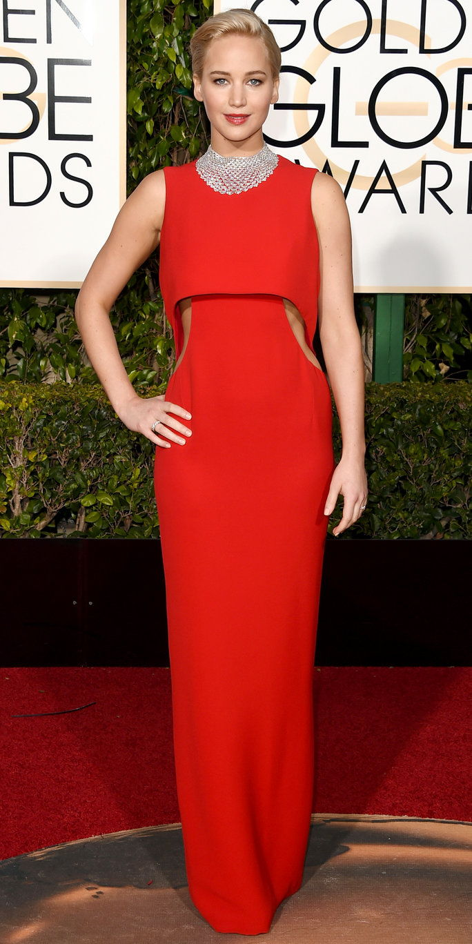 جنيفر Lawrence Golden Globes 2016