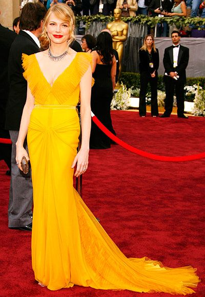 ميشيل Williams - Oscars Best - Vera Wang