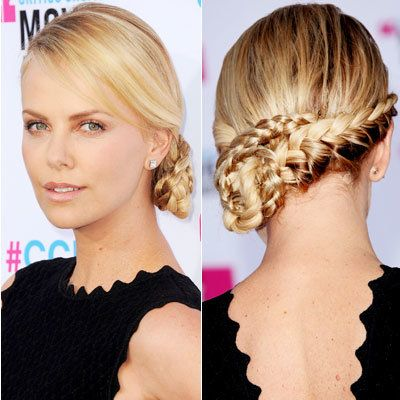 Невероватно Wedding Updos At Every Angle - Charlize Theron