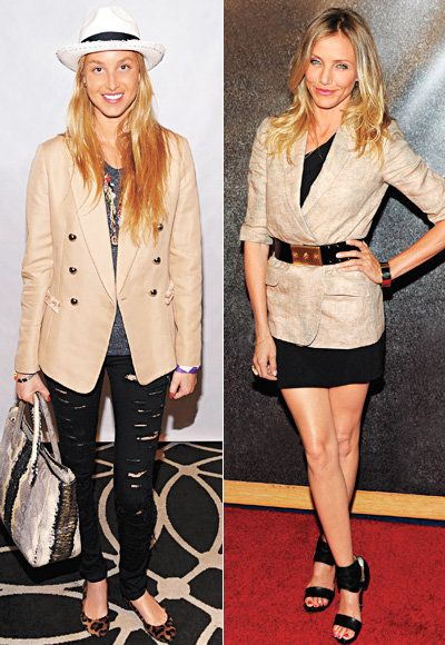 جمل Blazer - Cameron Diaz - Whitney Port