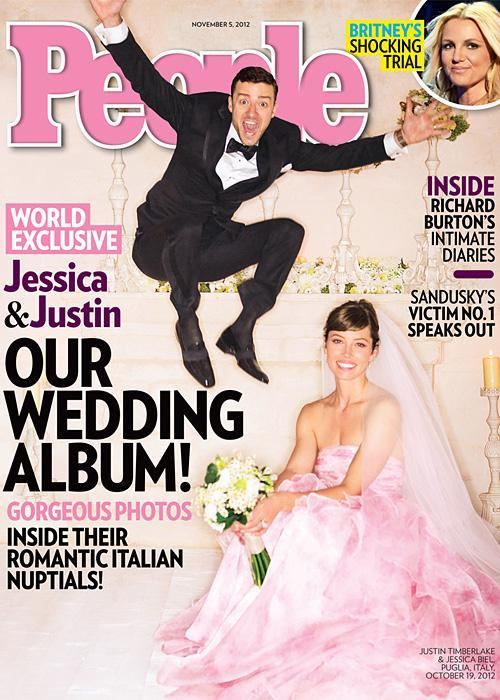 Позната личност Wedding Photos - Jessica Biel and Justin Timberlake