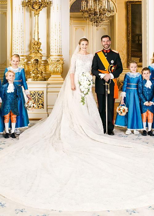 Позната личност Wedding Photos - Countess Stephanie of Lannoy and HRH Prince Guillame of Luxembourg