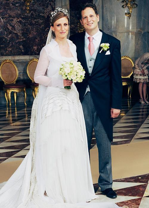 Позната личност Wedding Photos - Princess Sophie of Isenburg and Prince Georg Friedrich Ferdinand of Prussia
