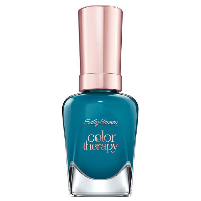 سالي Hansen Color Therapy Nail Polish in Teal Good