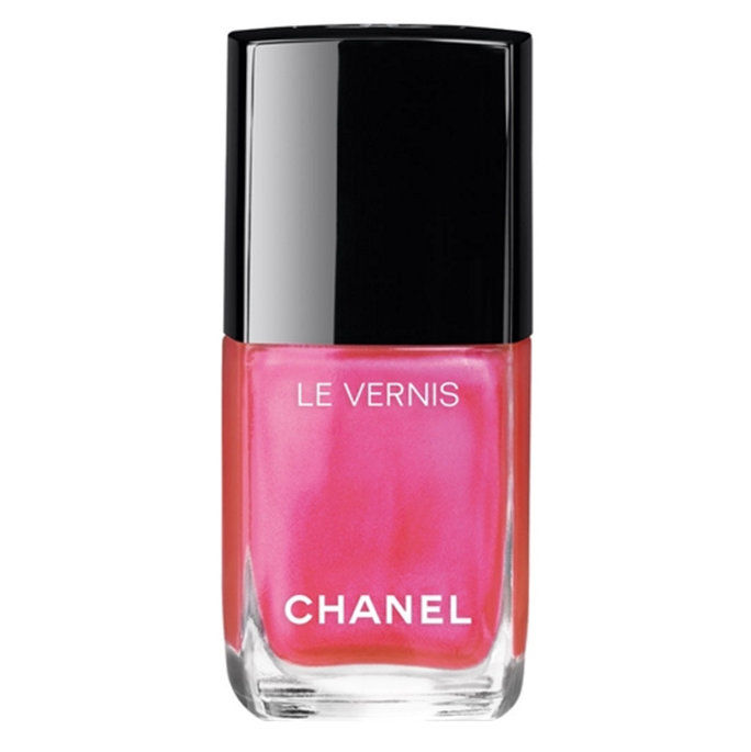 شانيل Le Vernis Longwear Nail Colour in Hyperrose Glass