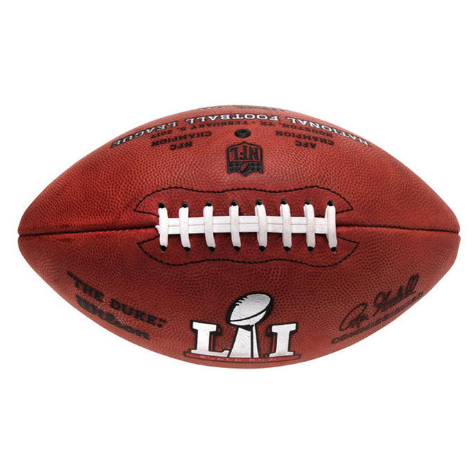 званичник Super Bowl LI Replica Football