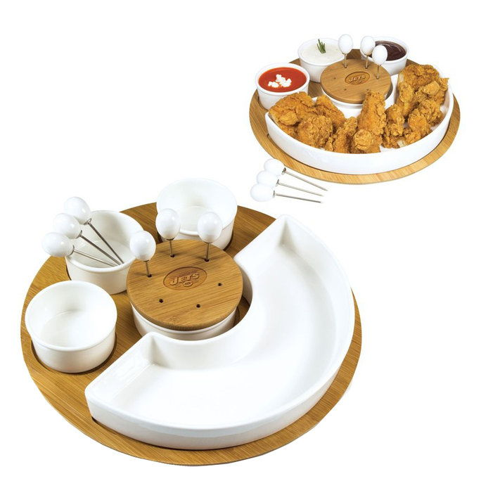 Енгравед Appetizer Serving Tray