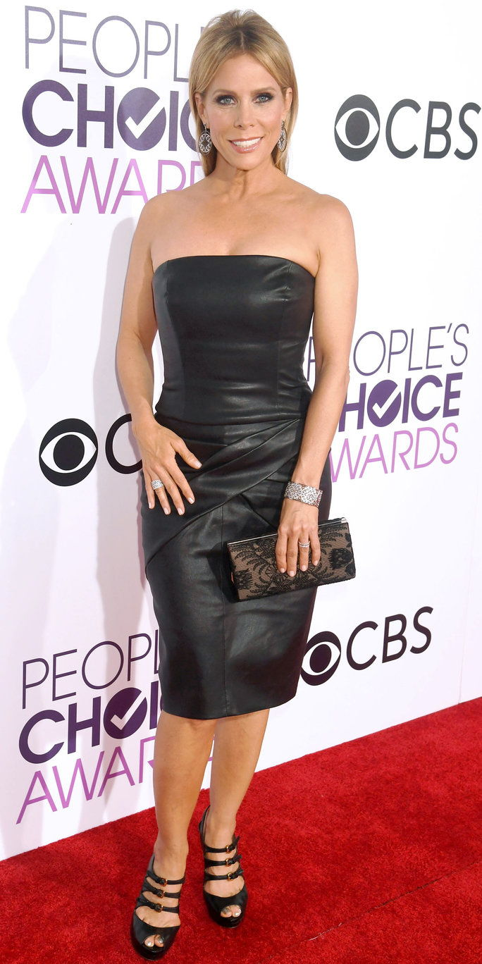 LOS ANGELES, CA - JANUARY 18: Actress Cheryl Hines attends the People's Choice Awards 2017 at Microsoft Theater on January 18, 2017 in Los Angeles, California. (Photo by Jeff Kravitz/FilmMagic)