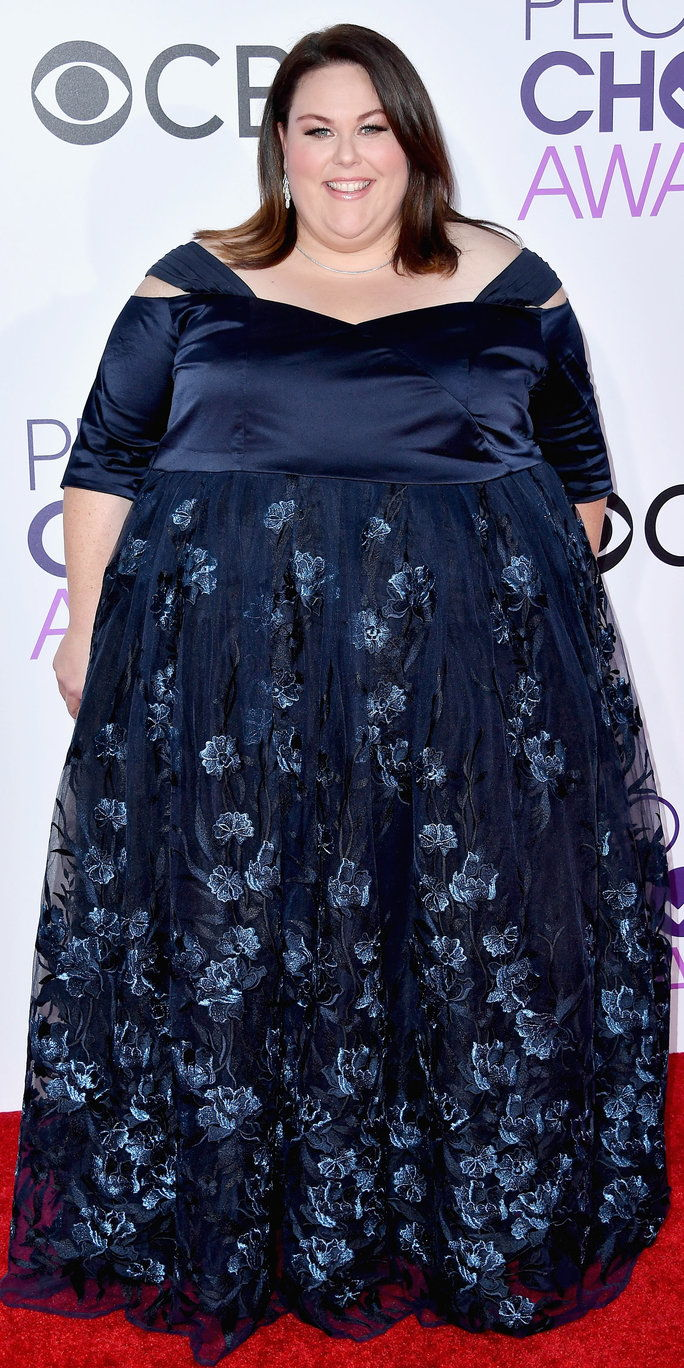 LOS ANGELES, CA - JANUARY 18: Actress Chrissy Metz attends the People's Choice Awards 2017 at Microsoft Theater on January 18, 2017 in Los Angeles, California. (Photo by Steve Granitz/WireImage)