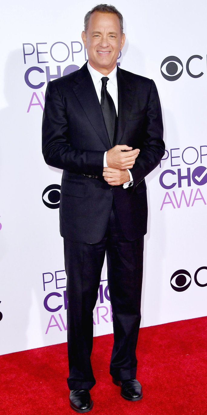 LOS ANGELES, CA - JANUARY 18: Actor Tom Hanks attends the People's Choice Awards 2017 at Microsoft Theater on January 18, 2017 in Los Angeles, California. (Photo by Steve Granitz/WireImage)