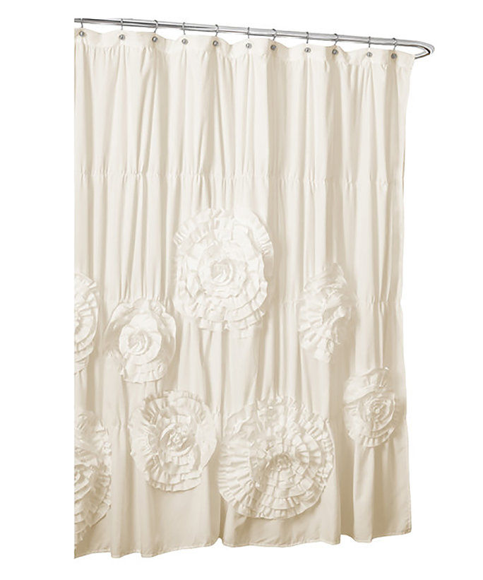 Кендра Ruffled Shower Curtain
