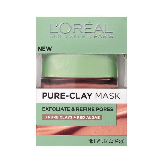 Л'Oreal Paris Exfoliate & Refine Pores Pure Clay Mask
