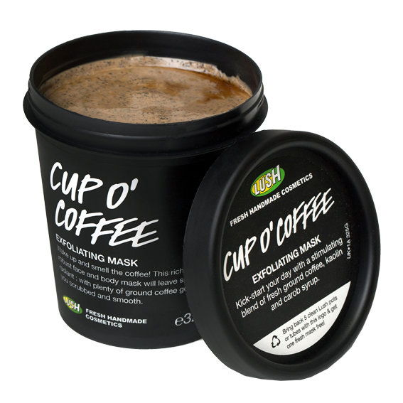 Лусх Cup O' Coffee Face and Body Mask