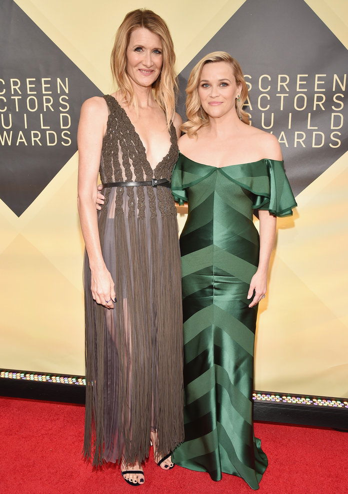 Лаура Dern with Reese Witherspoon