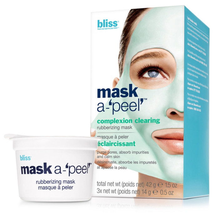 Блисс Mask-A-Peel Complexion Clearing Rubberizing Mask