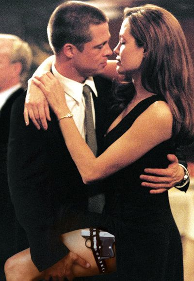 Икона Kisses - Mr. & Mrs. Smith - Angelina Jolie