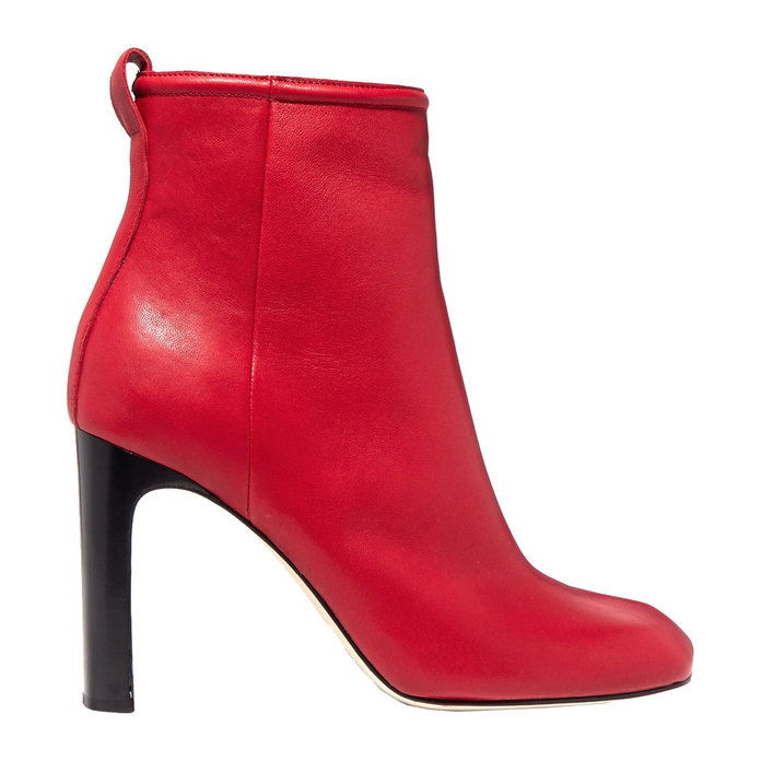 Кожа Ankle Boots