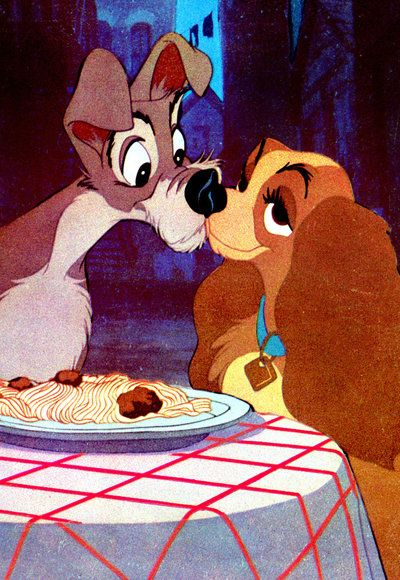 Икона Kisses - Lady and the Tramp - Disney
