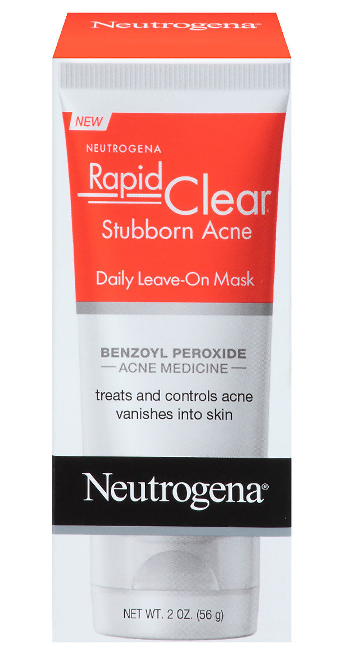 Неутрогена Rapid Clear Stubborn Acne Leave On Mask