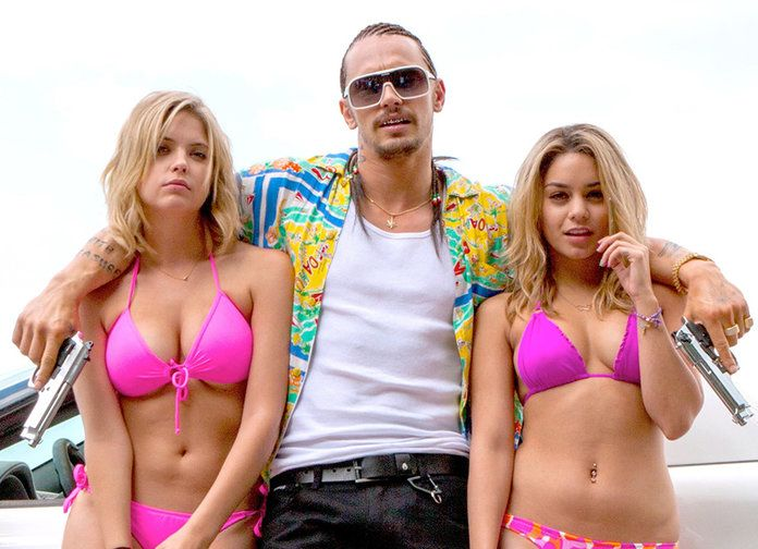 فانيسا Hudgens James Franco Spring Breakers