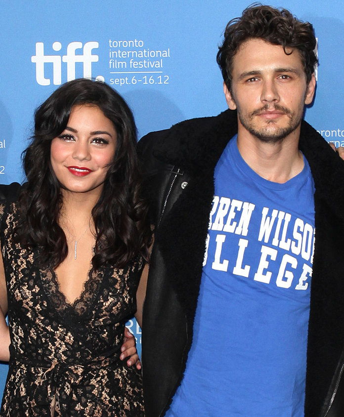 فانيسا Hudgens and James Franco