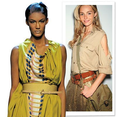 ربيع Trends 2009, Clothes We Love, Safari
