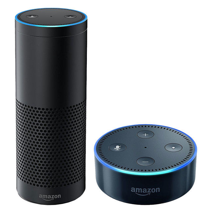 الأمازون Echo and New Echo Dot