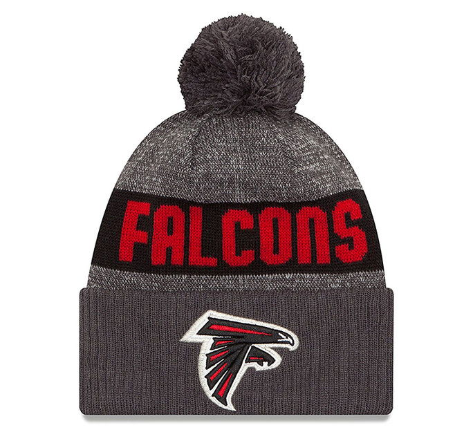 НФЛ Atlanta Falcons 2016 Sport Knit Beanie, One Size, Graphite
