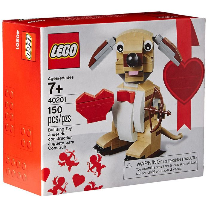 العاب تركيب Bricks & More Valentines Cupid Dog