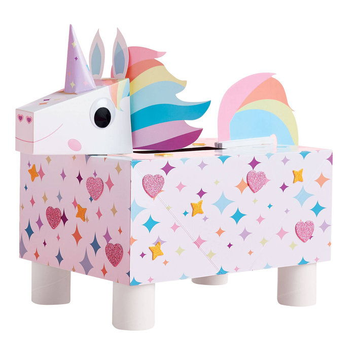 خلق Your Own Unicorn Mailbox Kit