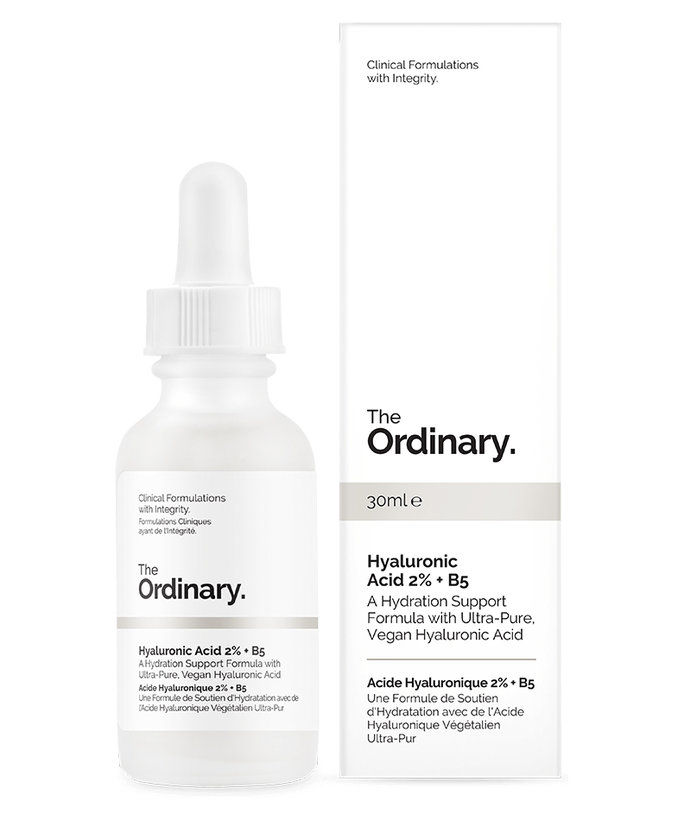 ال Ordinary Hyaluronic Acid 2% + HA 2%