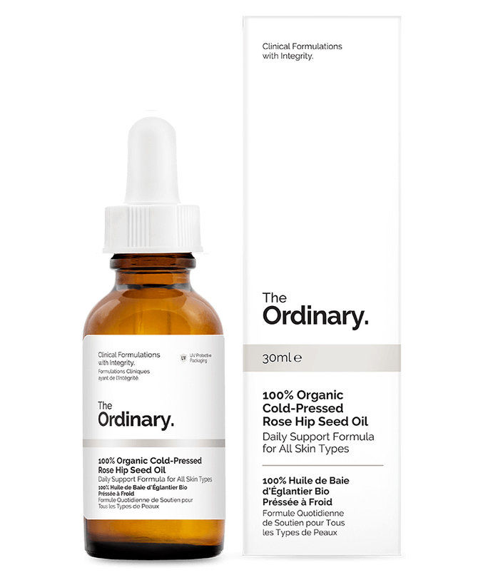 ال Ordinary 100% Organic Cold-Pressed Rosehip Seed Oil