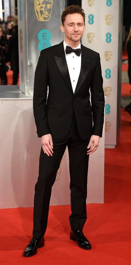 2015 BAFTA Arrivals - Tom Hiddleston