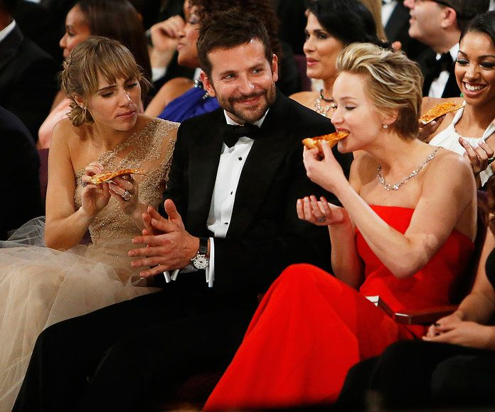 جنيفر Lawrence, Bradley Cooper, & Suki Waterhouse