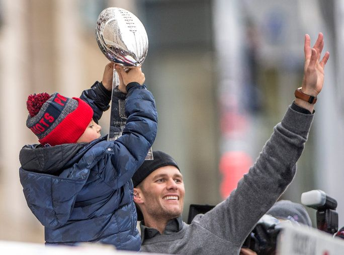 توم Brady Superbowl Victory Parade - LEAD