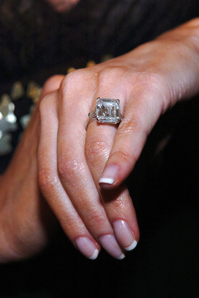 Меланија Trump Engagement Ring