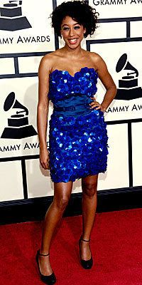 Цоринне Bailey Rae, Luella, grammys, blue dress, grammys trends, celebrity trends