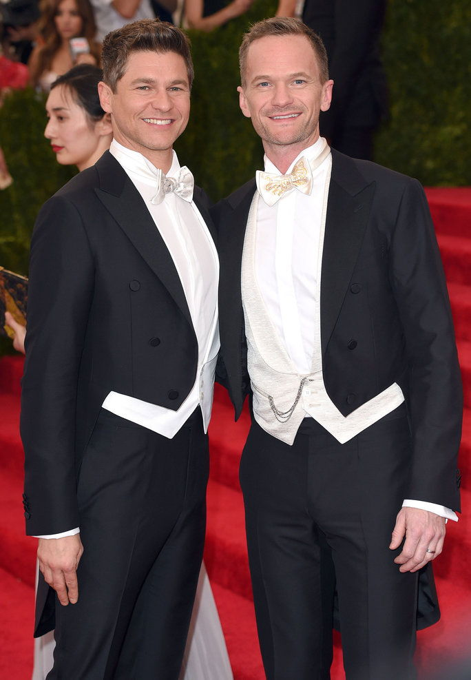 ديفيد Burtka and Neil Patrick Harris