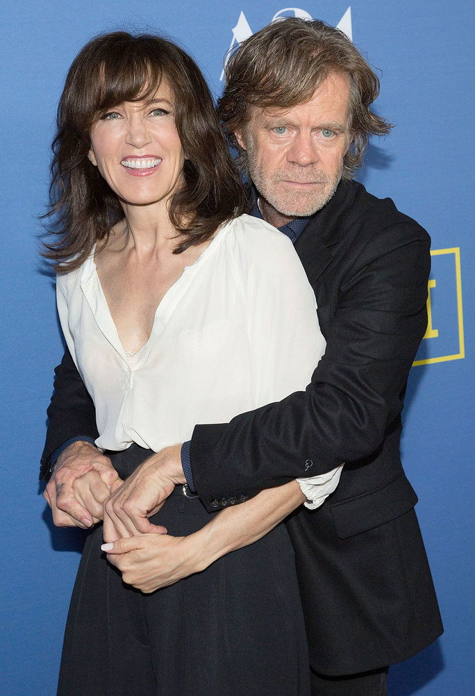 سعادة Huffman and William H. Macy