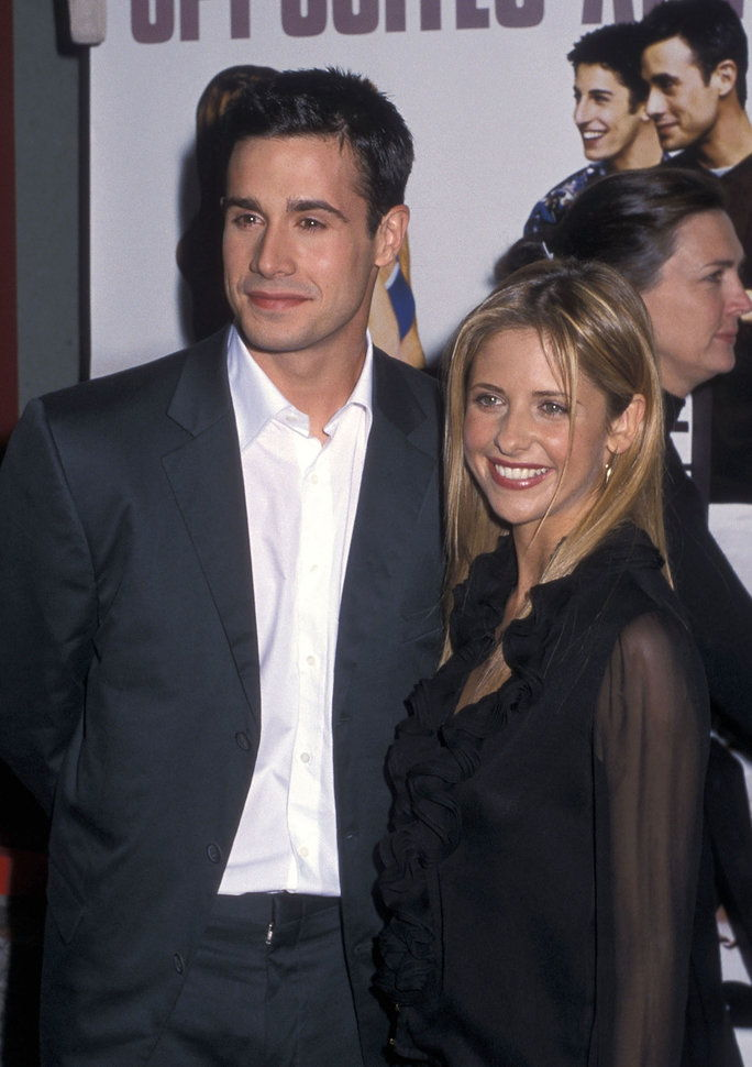فريدي Prinze, Jr. and Sarah Michelle Gellar