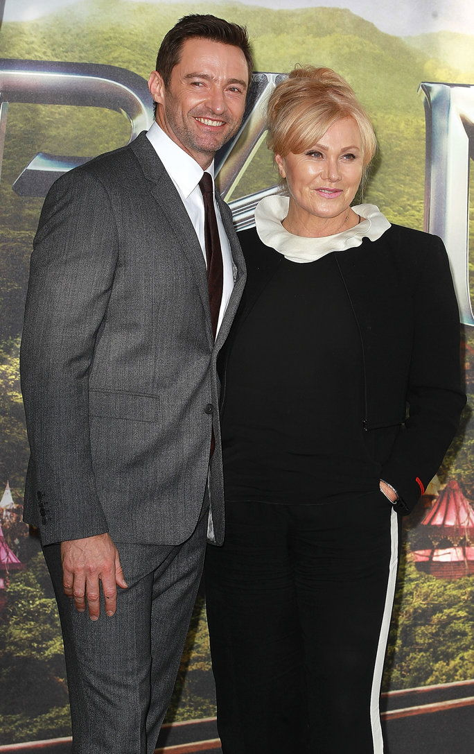 هيو Jackman and Deborra-Lee Furness