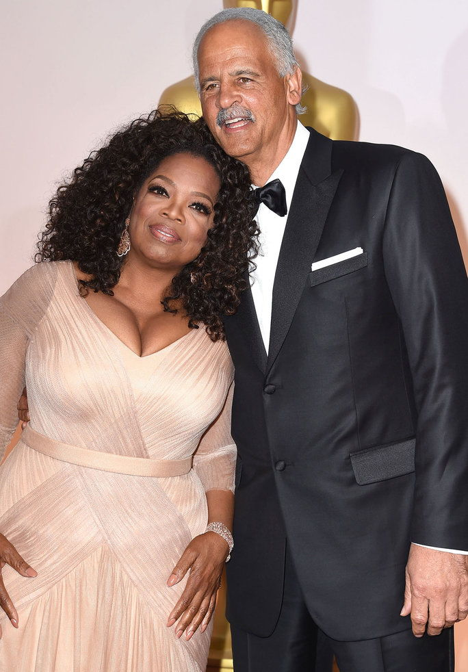 أوبرا Winfrey and Stedman Graham