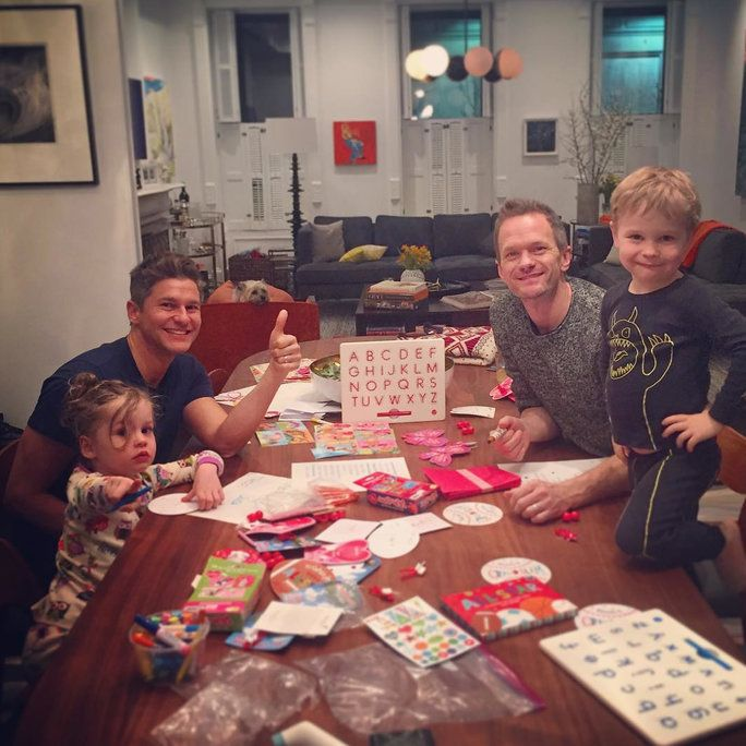 نيل Patrick Harris, David Burtka, and Their Twins