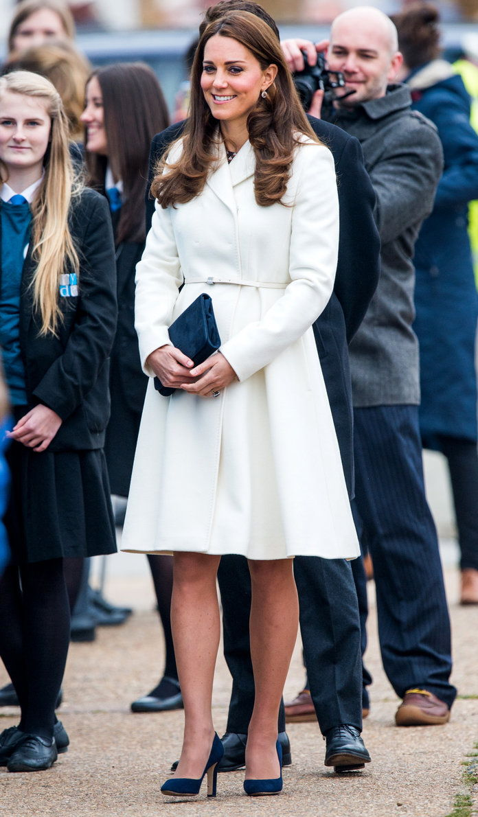 Тхе Duchess Of Cambridge Visits Portsmouth